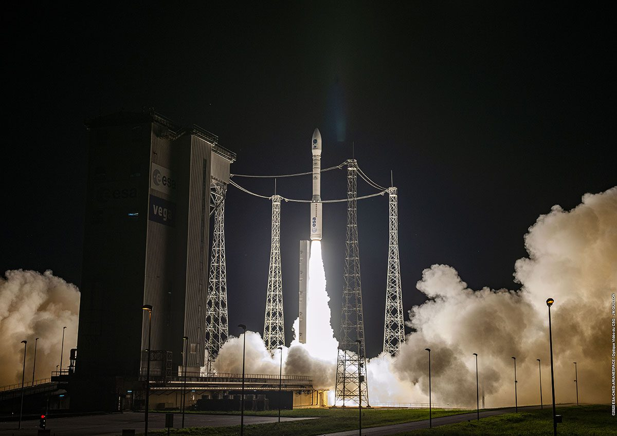 Arianespace Vega VV16 launch makes successful multi-sat delivery as part of Small Spacecraft Mission Service