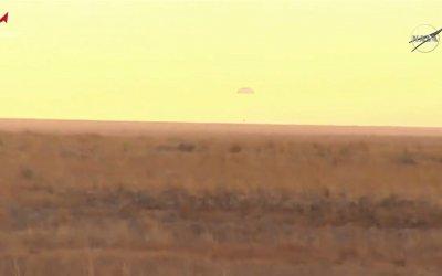 Cosmonauts and astronaut return to Earth on Soyuz MS-16