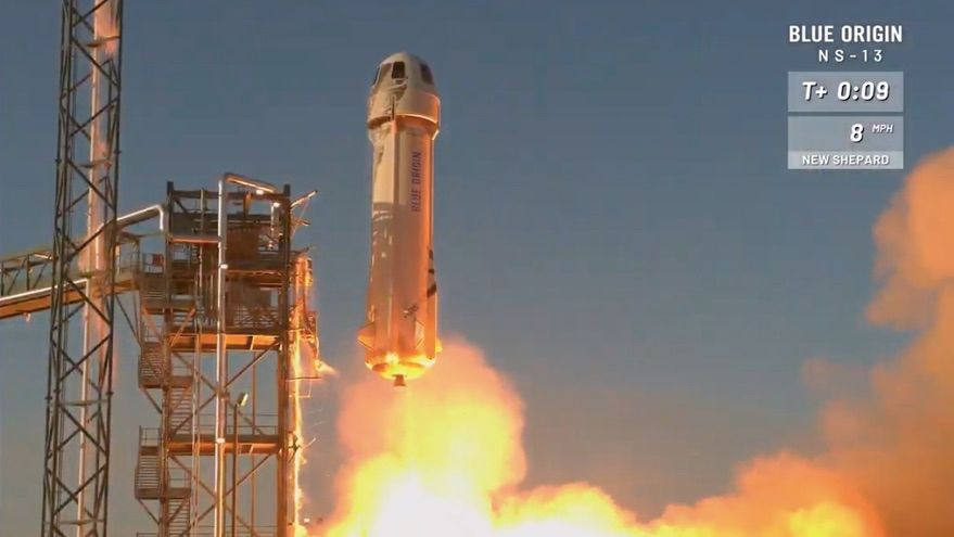 Blue Origin New Shepard completes 13th sub-orbital launch, first in 2020