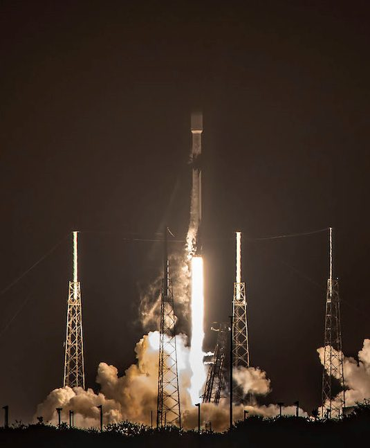Falcon 9 launches another 60 Starlink satellitles while reusable first stage lands for 7th time