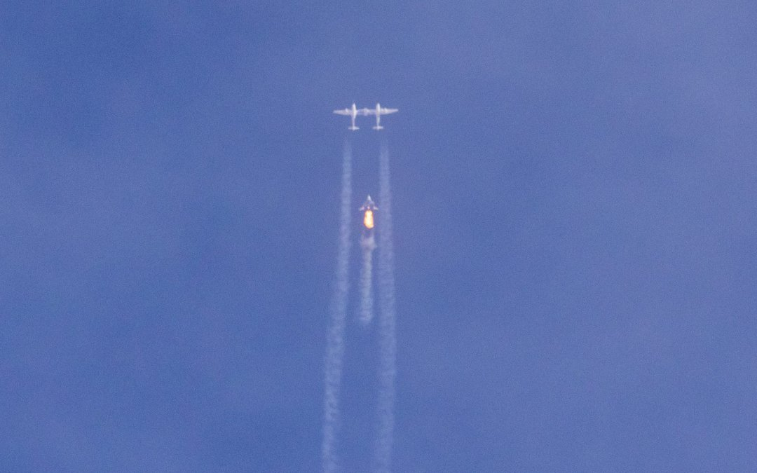 Was it an abort or launch failure? SpaceShipTwo abandons launch one second after ignition