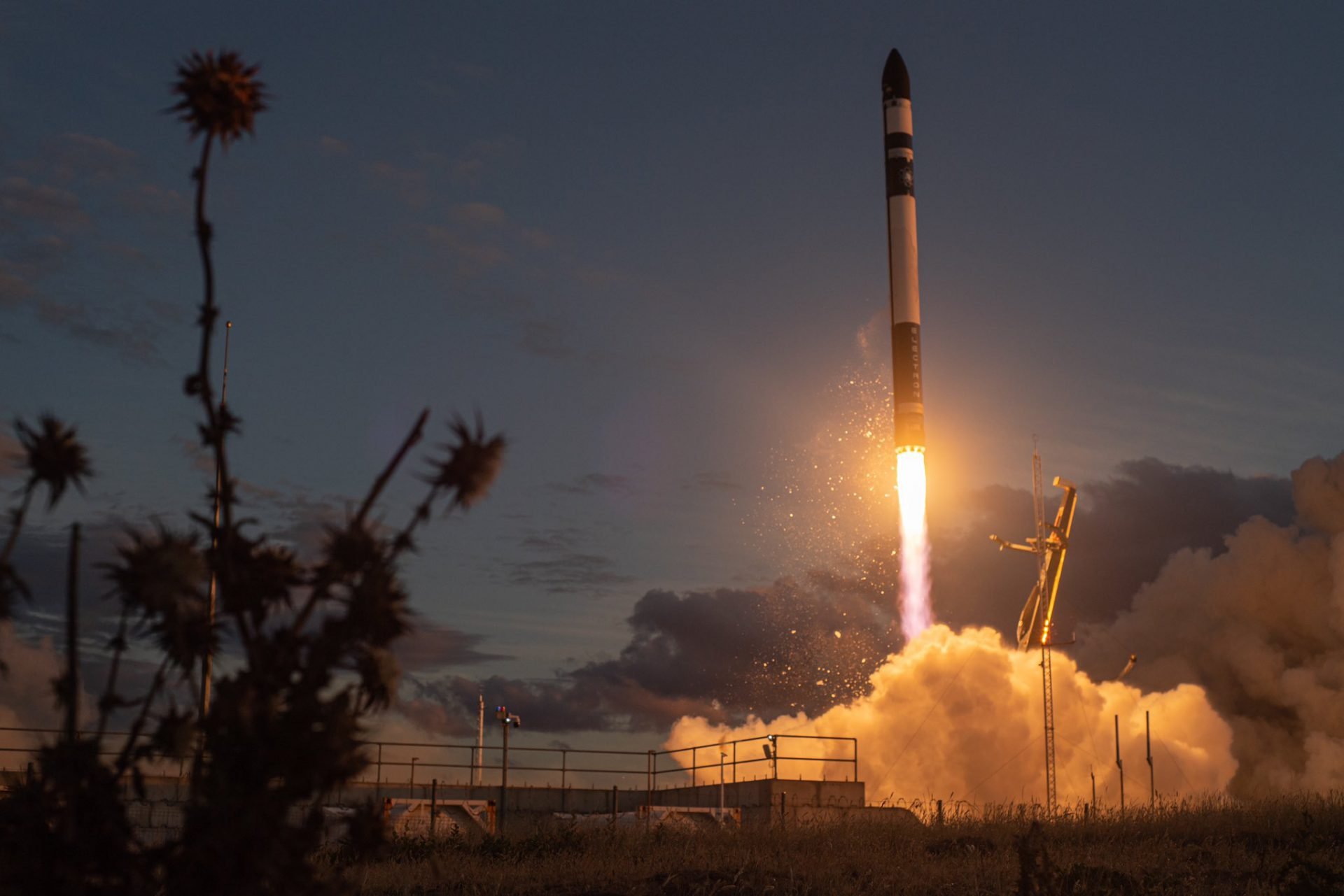 Electron KS launches LEO comsat from Mahia Peninsula in New Zealand