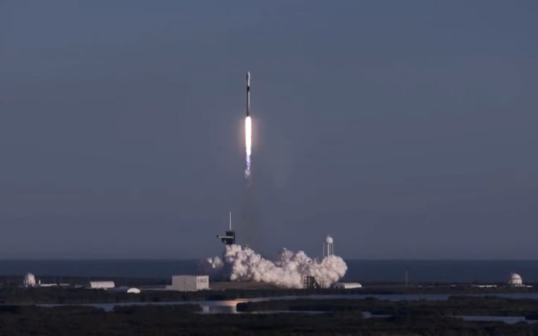 Initial Starlink launch of 2021 sees 60 more sats added and first eight-time booster landing