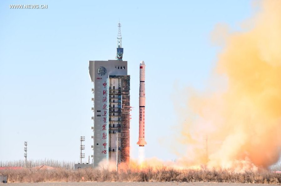 China launches suspected naval intelligence satellite triplet