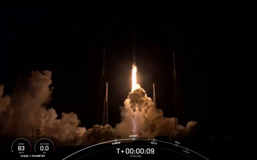 SpaceX successfully launches another Starlink batch but loses the first-stage during landing attempt (Updated)