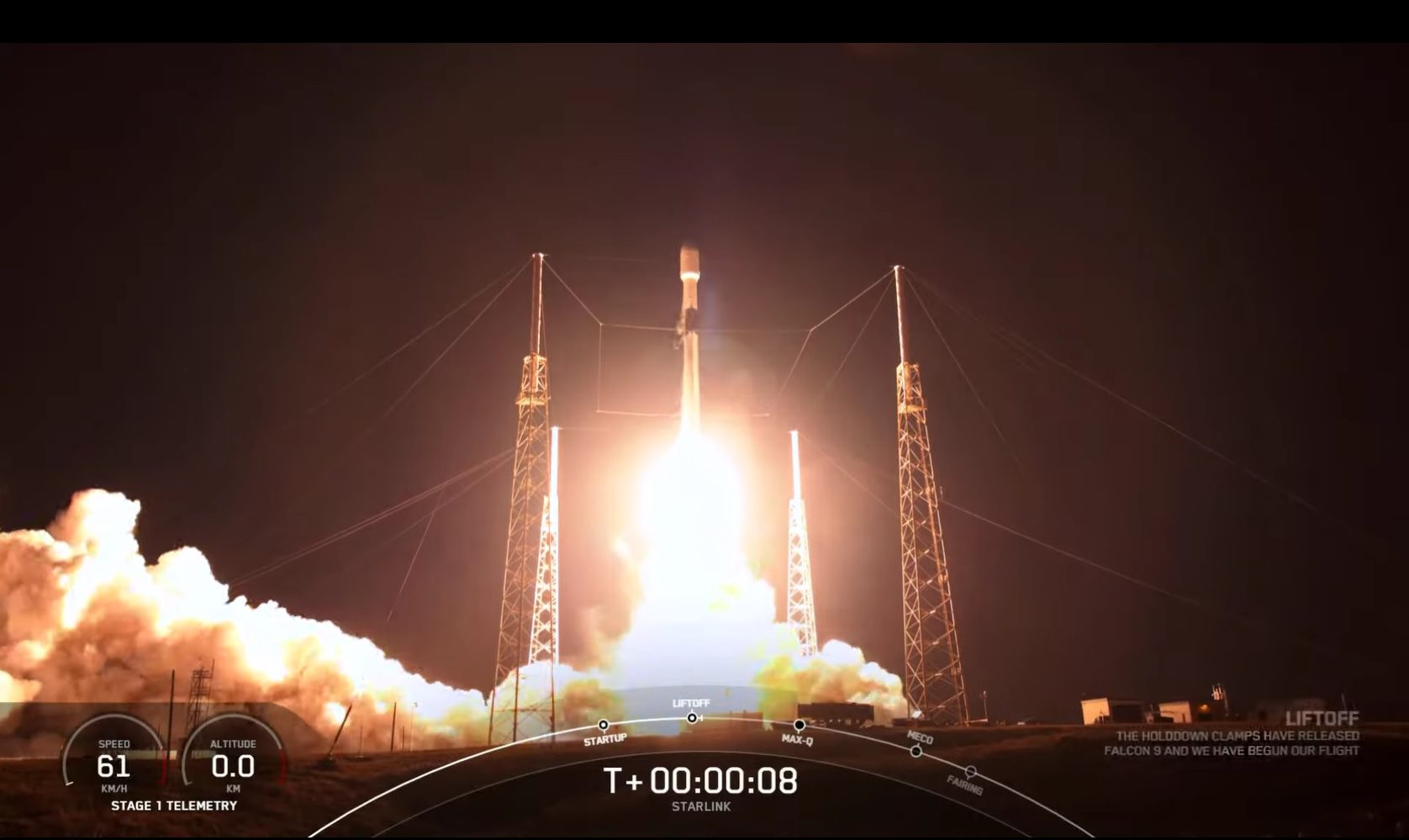 SpaceX completes another Starlink launch