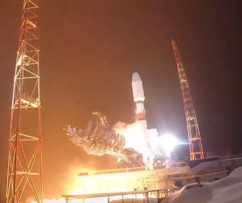 Russian Soyuz rocket launches Lotus-S ELINT satelllite