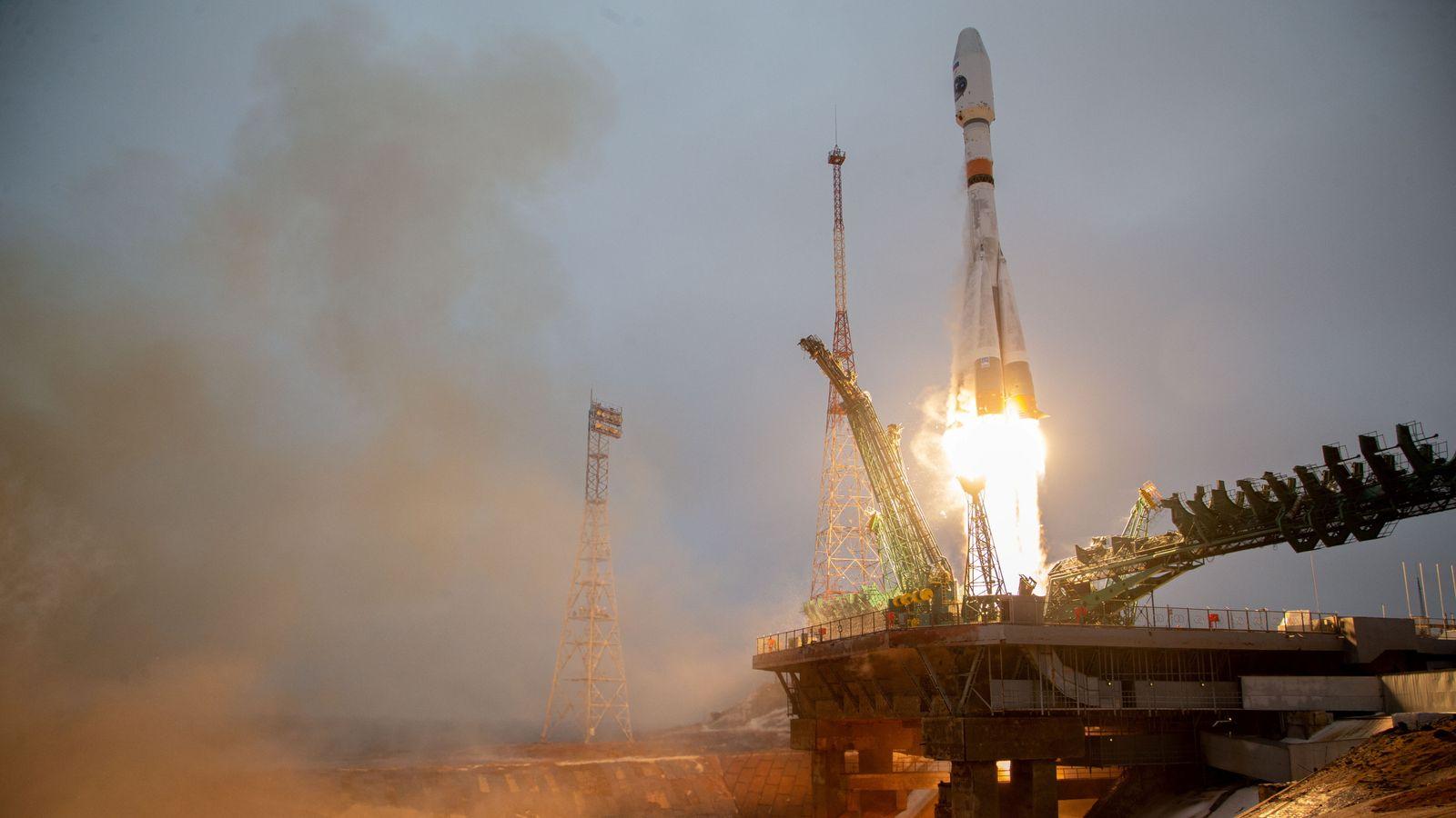 Soyuz 2-1b Fregat M launches Arktika-M 1 arctic meteorological research sat