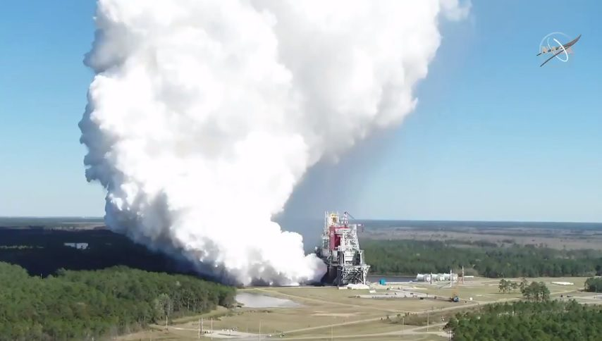 SLS saves itself with successful full-duration engine firing but its career may still be short
