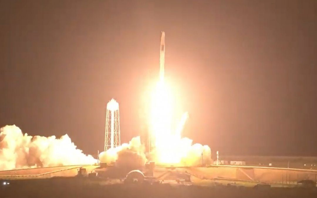 SpaceX launches second commercial crew mission to the ISS
