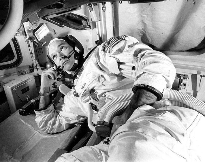 On a sadder note: Apollo 11 Command Module Pilot Mike Collins dies of cancer at 90