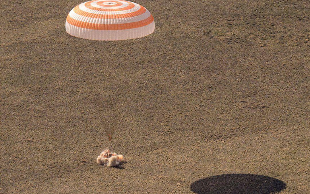 Soyuz MS-17 crew returns