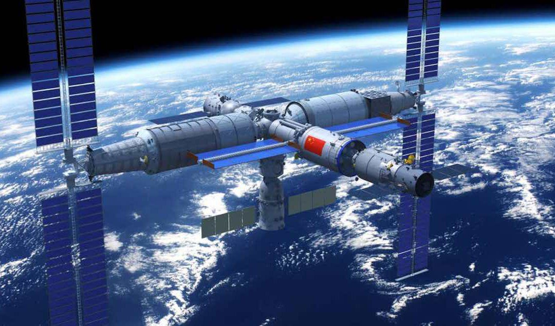 China launches first module in its new Space Station in low Earth orbit