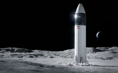 NASA chooses SpaceX Starship derivative for human lunar lander but was the choice forced by limited funding?