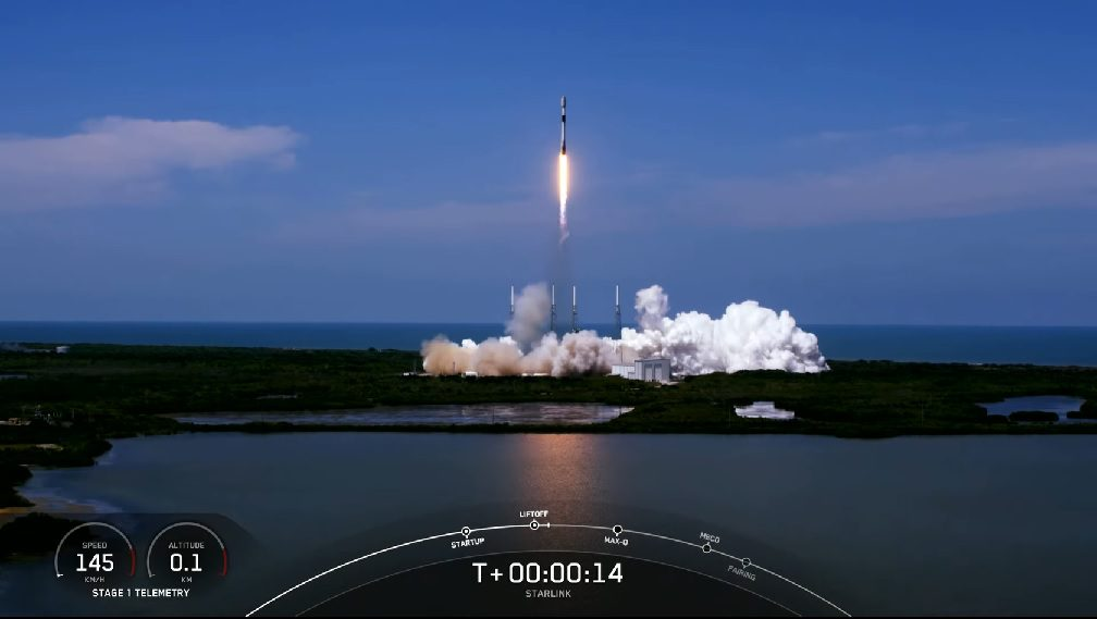 """SpaceX completes 100th straight Falcon 9 mission and completes the first Starlink """"shell"""""""
