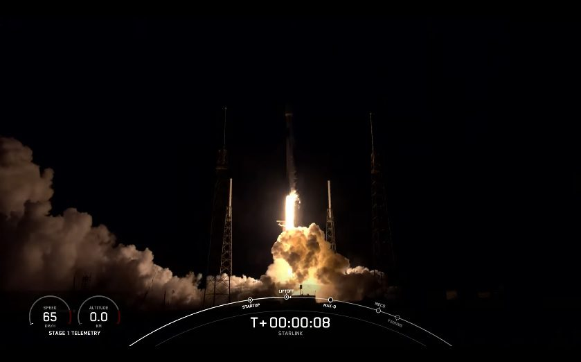 SpaceX launches Starlink mission and achieves first 10th stage re-use