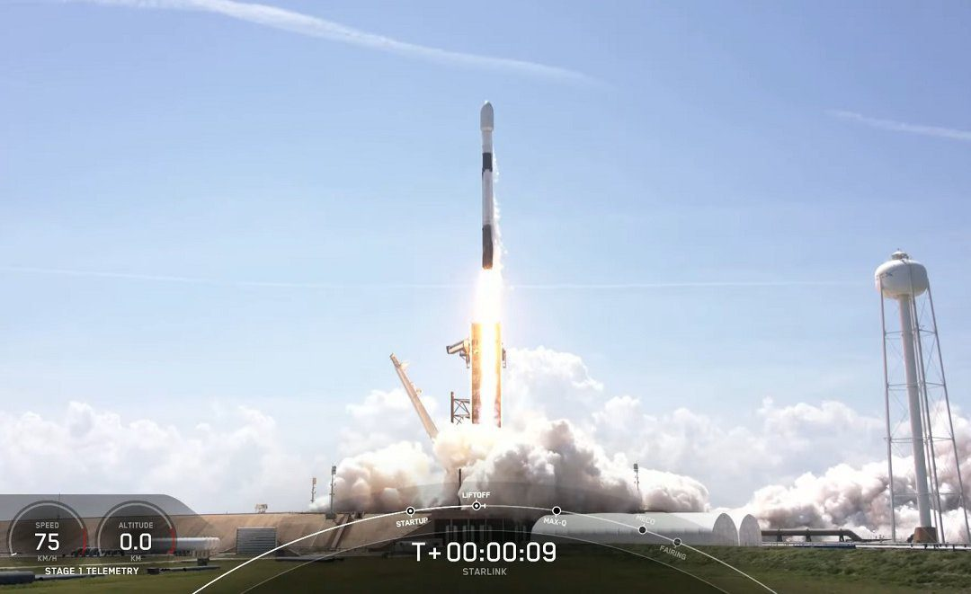 SpaceX launches first Starlink mission of May placing 60 satellites into orbit