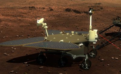 China lands rover on Mars