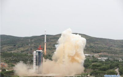 China places four satellites into LEO