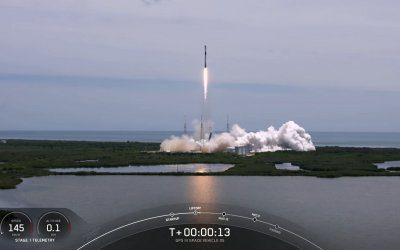 SpaceX launches GPS 3 satellite on a previously flown first-stage for the first time