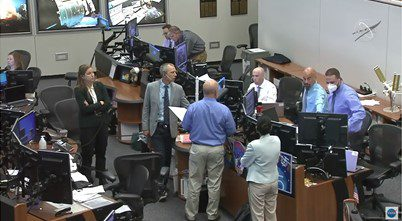 Work begins on fitting first iROSA solar panel to ISS but encounters issues