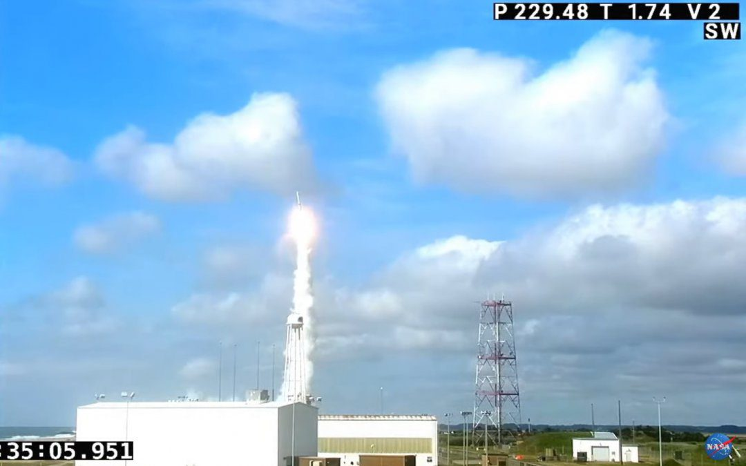 Three NRO payloads launched by a Minotaur rocket