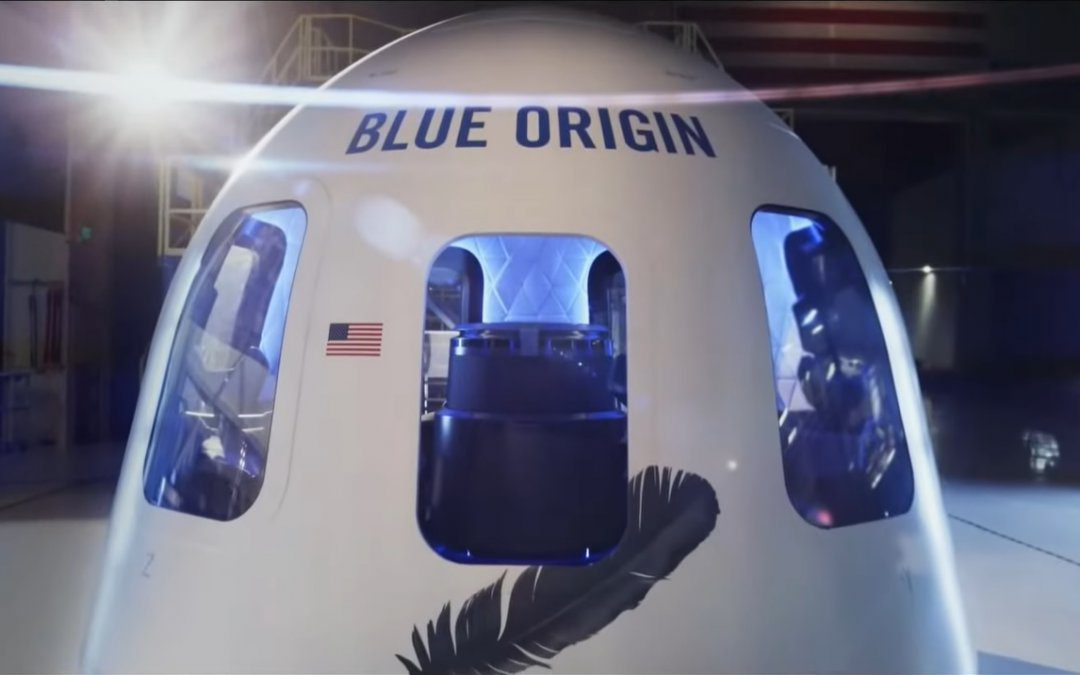 New Shepard seat auctioned for US$28 million