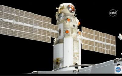 20 ton Nauka module successfully docks with ISS but later causes scare with misfiring thrusters