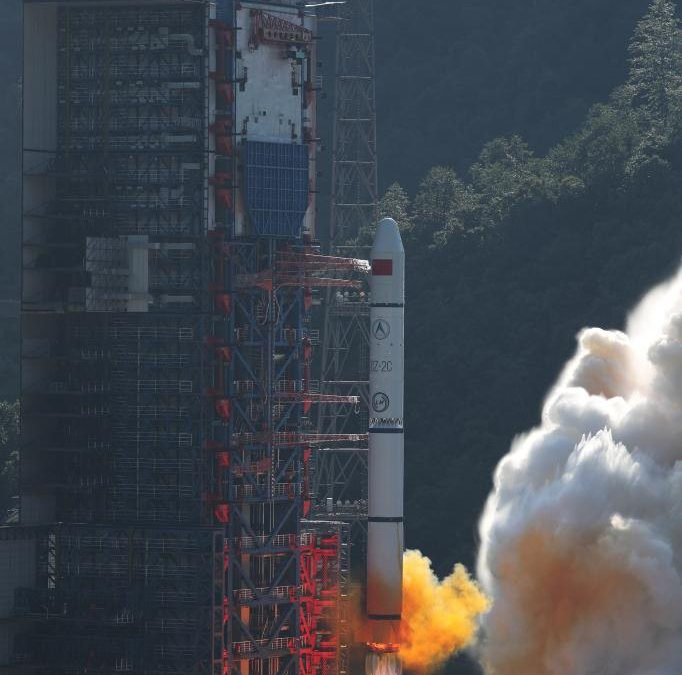 Third triplet of Yaogan 30 satellites launched by China this year