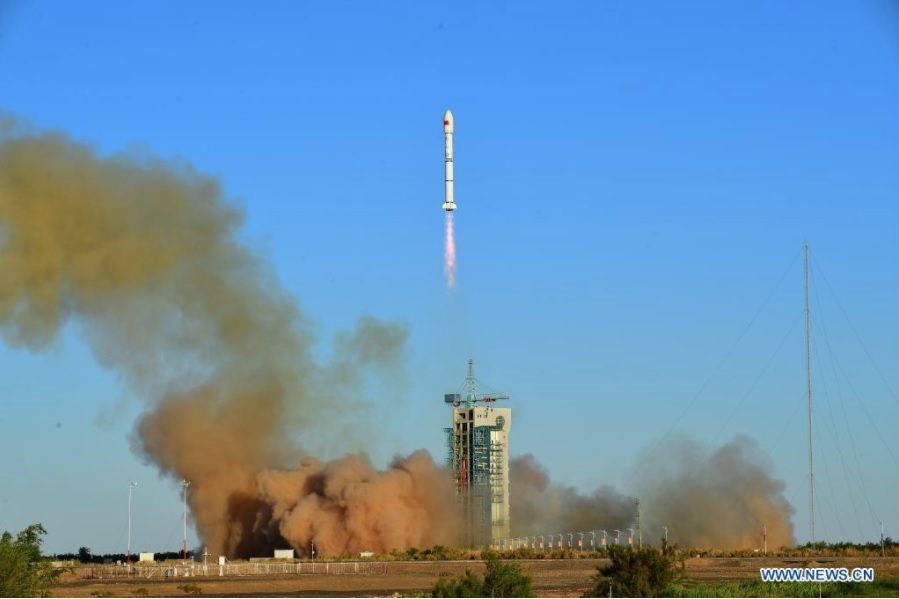 Experimental communications satellites launched to LEO by China