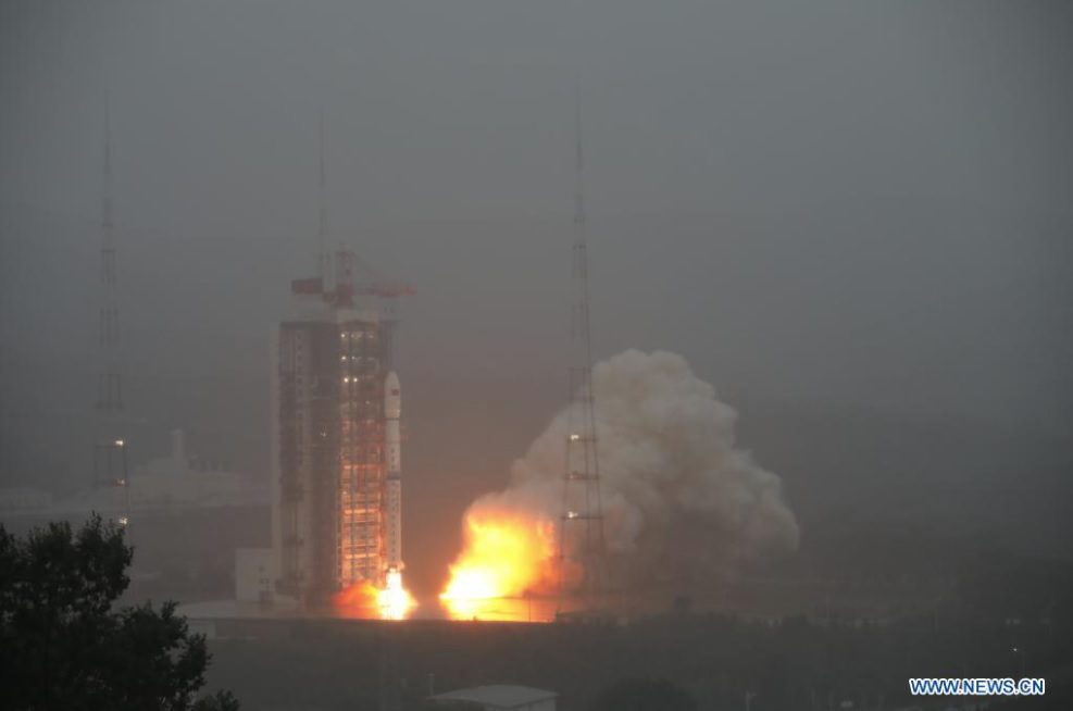 China launches set of two new cartography satellites