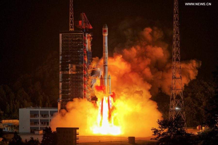 Second Chinese launch in one day places experimental comms sat into transfer orbit to GEO