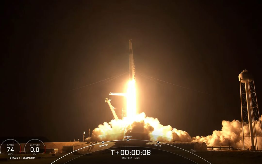 First private crewed orbital mission Inspiration4 a success for SpaceX (Updated)