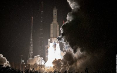 Ariane 5 ECA+ launches pair of comsats: SES-17 and Syracuse 4A