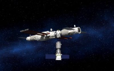 China launches new crew to its space station on board its Shenzhou 13 spacecraft